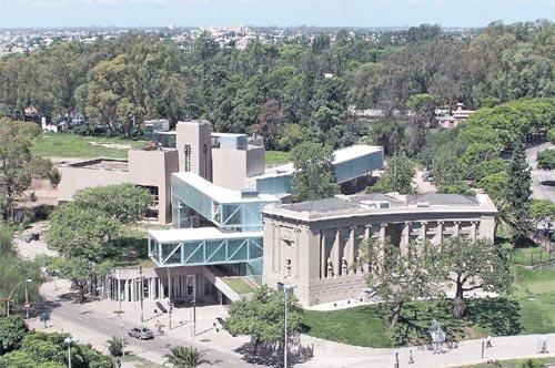 Vista del conjunto, ampliación del Museo Caraffa