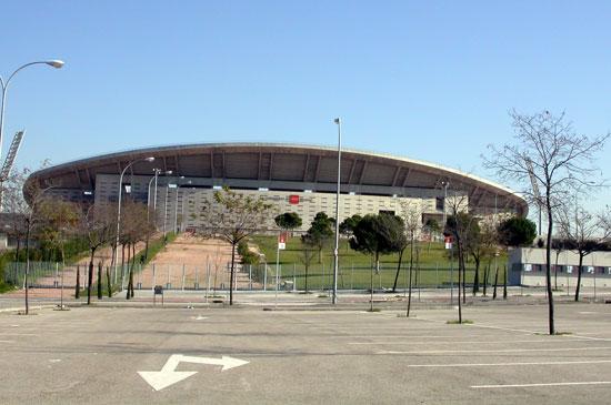 Una imagen del Estadio de La Peineta, de Madrid.