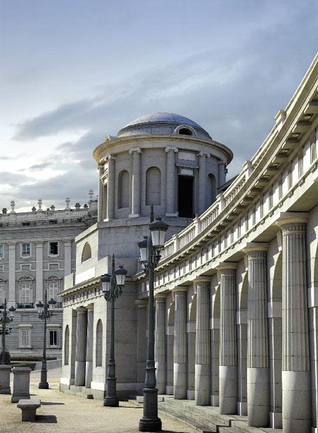 La plaza de Oriente según los planes de Isidro Velázquez