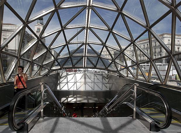 La nueva estación de Sol - Se inaugura con dos años de retraso pero con la caverna más grande del mundo
