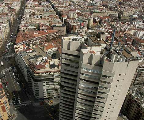 Imagen de la Torre Valencia, uno de los edificios más polémicos de Madrid. (Skyworks)