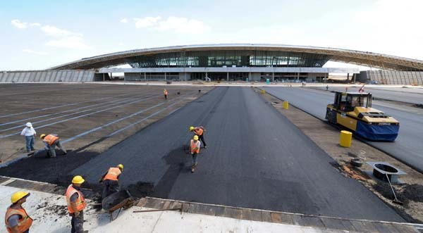 Aeropuerto Internacional de Carrasco, de Rafael Viñoly Foto:Rafael Viñoly