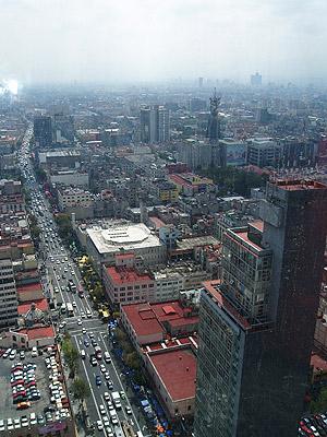 La capital mexicana, una de las ciudades más extensas del mundo