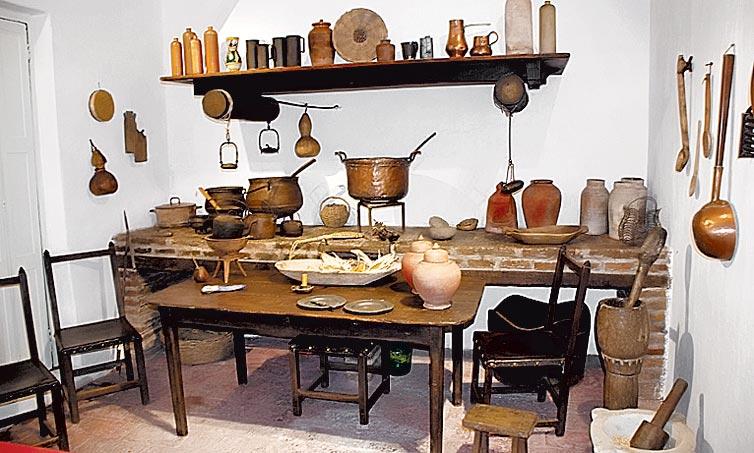 Cocina.  Se intervino el edificio, además de reveer la colección.  Cortesía Museo Pueyrredón