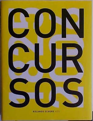 Libro Concursos 1825-2006, ganador del premio Los libros mejor impresos y editados en la Argentina Foto: SCA