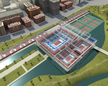 La Caja Mágica. Centro Olímpico de Tenis. Madrid