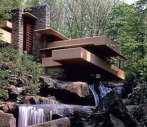 La Casa de la Cascada, la construcción más conocida de Lloyd Wright   www.fallingwater.org
