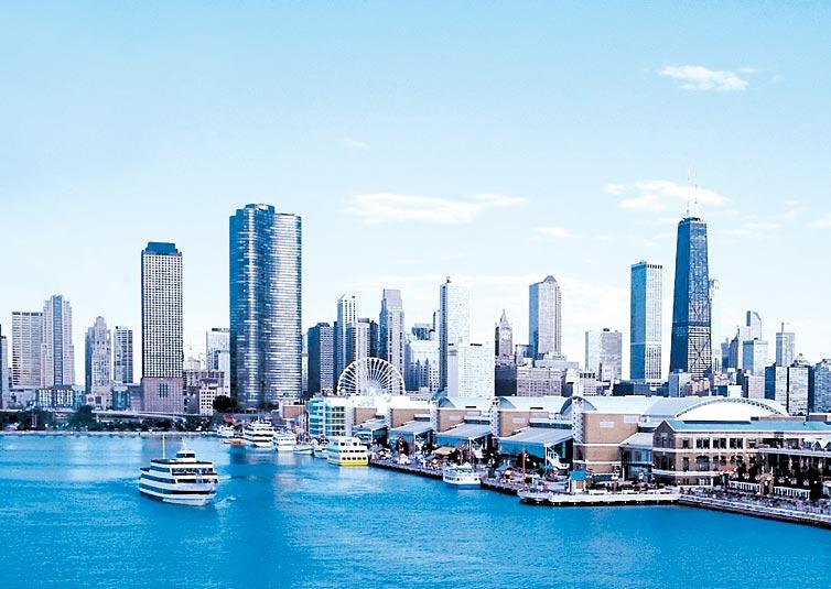 Chicago además de emblemáticos Rascacielos cuenta con Museos, Teatros y un Célebre Barrio Chino. Oficina de Turismo de Chicago