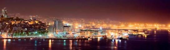 Nocturna del Puerto de Vigo (Alberto Pérez Barahona)