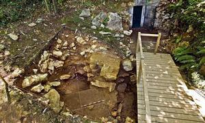 Vista de la nueva excavación en Altamira / EFE