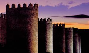 Vista de la Muralla de Ávila, España