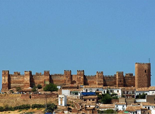 Castillo de Burgalimar de Baños de la Encina (Jaén)