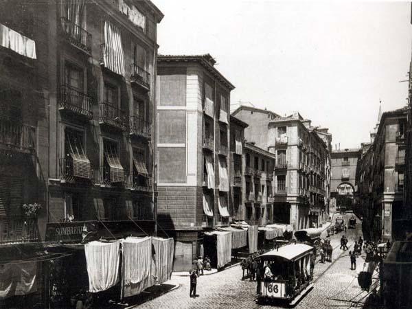Calle Toledo, Madrid 1880