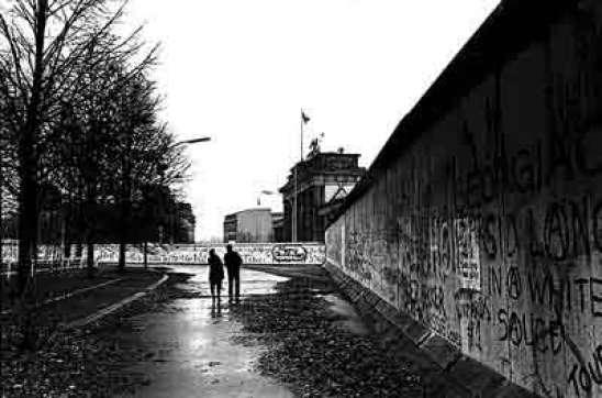 Imagen del muro de Berlín.  Archivo 20minutos.es