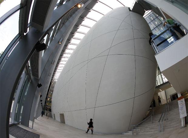Interior del nuevo Centro Darwin en el Museo de Historia Natural de Londres.