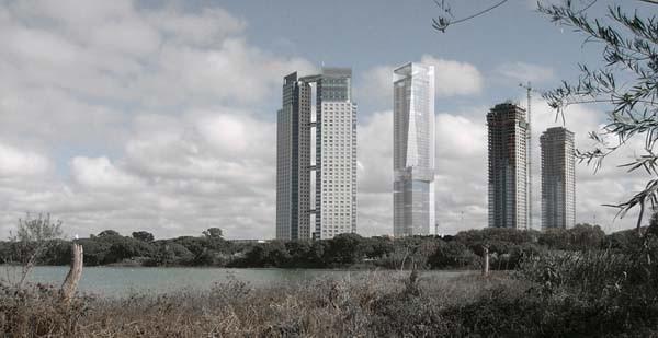 La futura torre más alta de Buenos Aires, diseñada por Francisco Mangado, estará en Puerto Madero Foto: Francisco Mangado