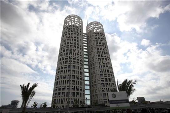 El edificio de oficinas más alto de Andalucía, las Torres de Hércules Business Center