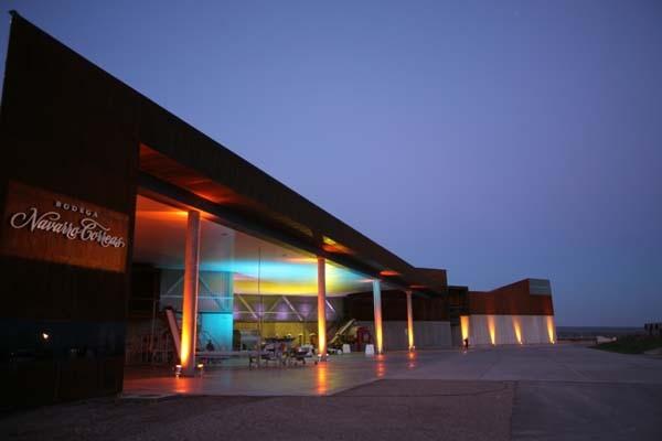 El estudio AFT proyectó la segunda bodega de Navarro Correas en Mendoza.