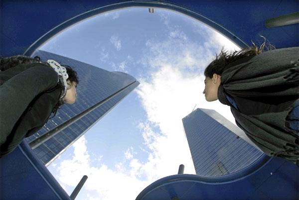 Visita a las Cuatro Torres Business Area de Madrid. Semana de la Arquitectura 2008   Bernabe Cordon