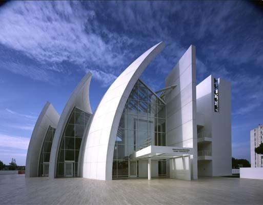 Iglesia del Jubileo (1996-2003), de Richard Meier . Foto: Richard Meier