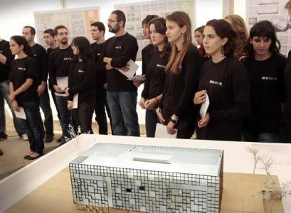 Maqueta casa autosuficiente diseñada por la Politécnica de Valencia, Solar Decathlon Europe.