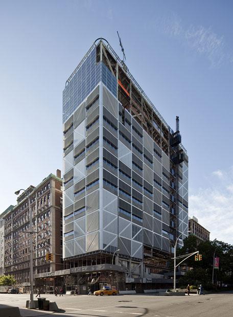 Pabellón proyectado en Nueva York por Rafael Moneo.
