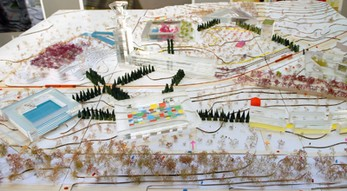 Proyecto urbano de Jean Nouvel y Mia Hägg para el Barrio Avanzado del Polígono de Toledo Foto: Jean Nouvel y Mia Hägg
