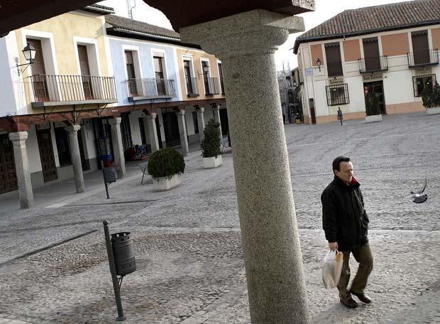 Plaza de Segovia, en el municipio de Navalcarnero, donde se han autorizado más recalificaciones de terreno de las previstas.- ANDRÉS CAMPOS