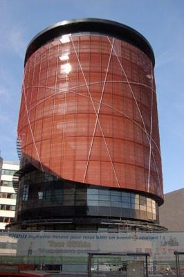 Una vista de la torre Elithis Foto: Gentileza tour-elithis.fr