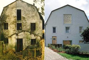 El antes y el después de Vaquería del Carmen.