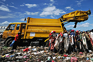 Vertedero de La Chureca, en Managua | Afp