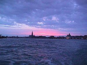 Alba en Venecia