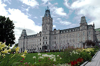 Asamblea Nacional de Quebec, sede del Parlamento.