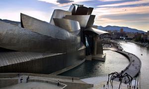 El museo Guggenheim de Bilbao, obra del arquitecto Frank Gehry | AFP