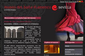 El Edificio en la Web del Museo del Baile Flamenco, Sevilla
