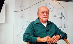 El arquitecto brasileño Oscar Niemeyer / AP