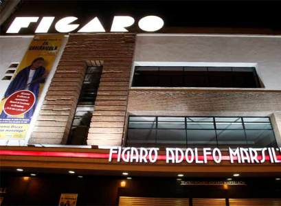 Fachada restaurada del teatro Fígaro Adolfo Marsillach.