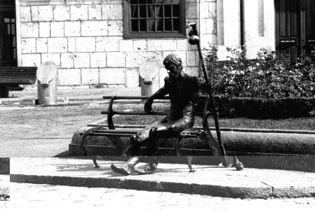 Monumento al Peregrino, Burgos.