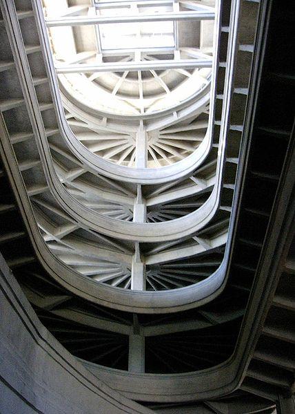 Vista de la espiral interior del Lingotto