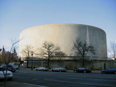 Exterior del museo Hirshhorn,  Washington D.C.