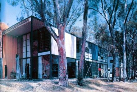 Casa Eames, California.  Foto:  WikiArquitectura.com