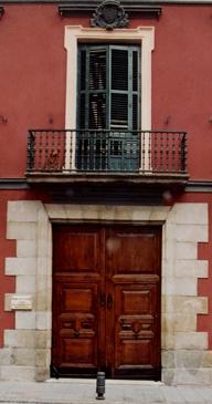 Detalle fachada Museo del Romanticismo.  Foto:  Web Oficial