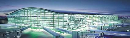 La nueva terminal 5 de Heathrow en Londres. Foto: infolondres.es