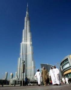 Una imagen del rascacielos Burj Dubái