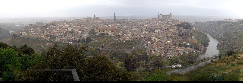 Vista general de Toledo con el Río Tajo (España) - Wikipedia