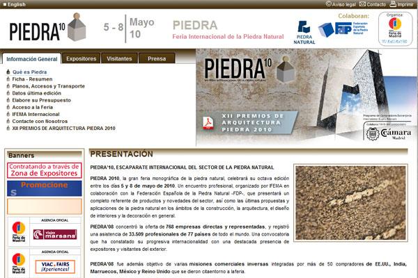 Piedra 10, 5-8 Mayo 2010 en IFEMA