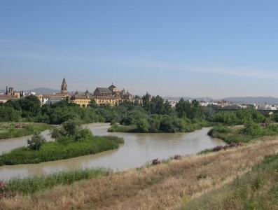 El Guadalquivir a su paso por Córdoba. Foto:  Wikipedia