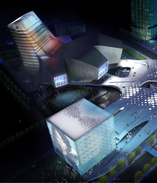 Taipei Pop Music Center (TPMC) by Reiser + Umemoto RUR Architecture PC