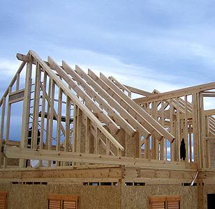 Casas con estructura de madera. Foto: cce North-Wall S.L.