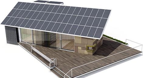Casa Solar con la que la UPM se presentó a la edición de Solar Decathlon 2007. | UPM